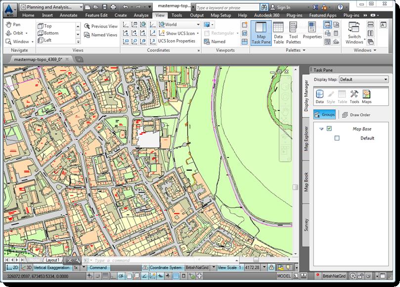 3d Terrain Map Of Uk.Combining Mastermap With Contours Map 3d