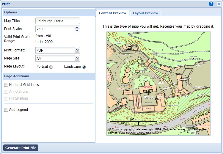 how to use roam Define Map Scale on